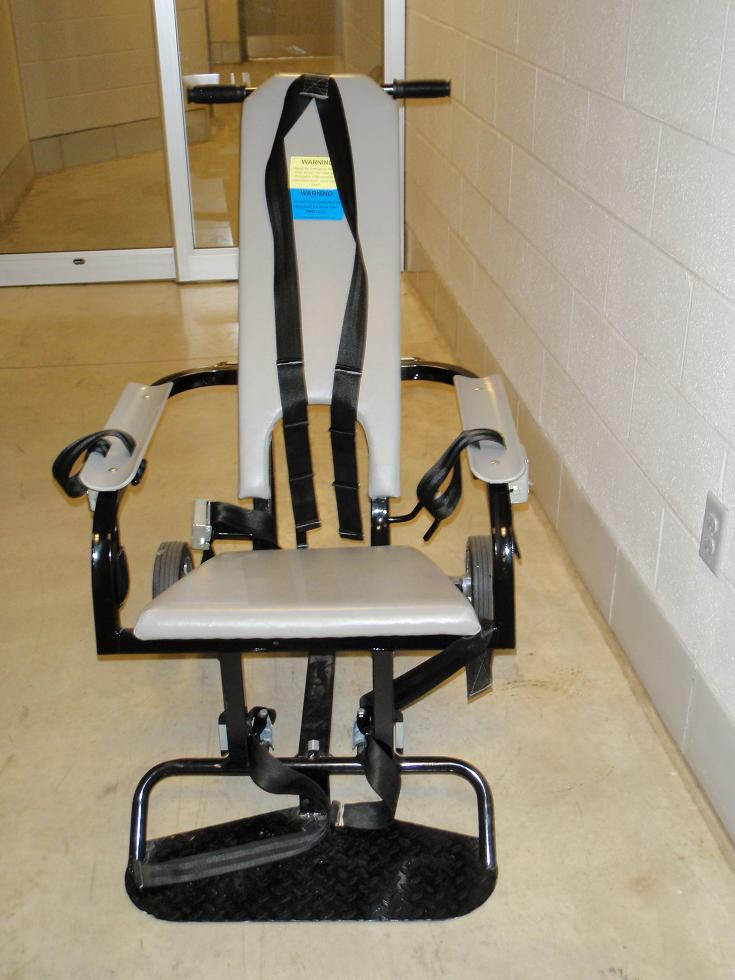Do prison inmates spend all their time lifting weights